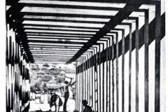 af gabbia del monolite