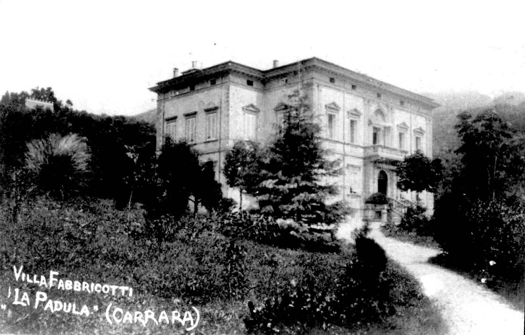cp villa Fabbricotti alla padula